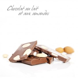 Chocolat Lait-Amande Bionoor (tablette 100g)